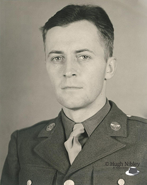 Hugh Nibley in uniform