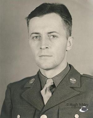 Hugh Nibley in uniform